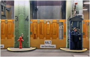 Fahrstuhl im alten Elbtunnel