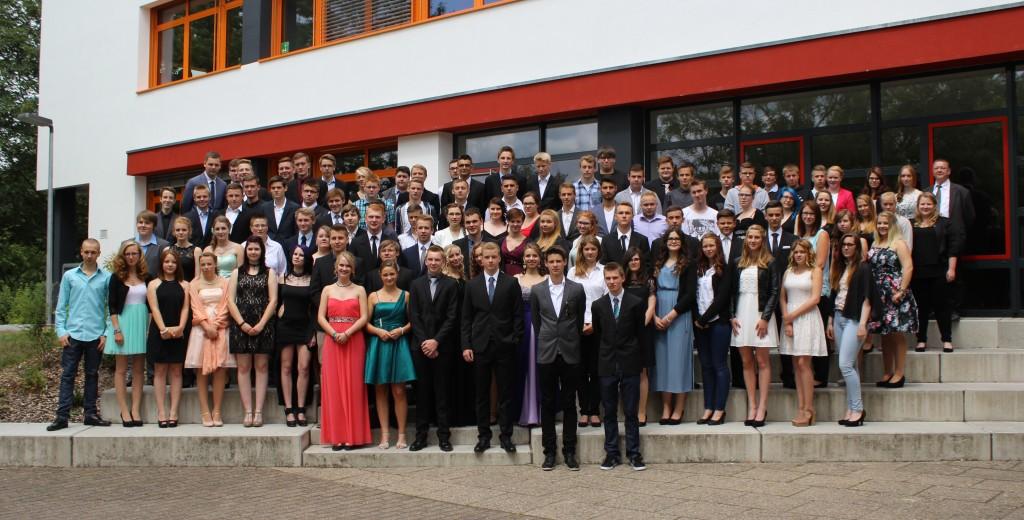 Foto Abschlussschüler