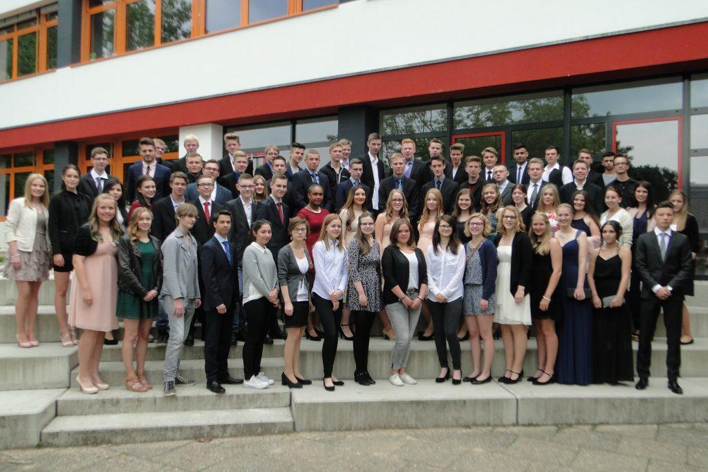 Abschlussschüler 2016