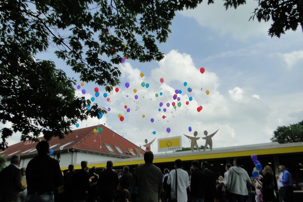 Abschluss 2016 Ballons